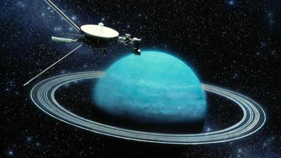 The voyager craft in space - Humans own 'probe'