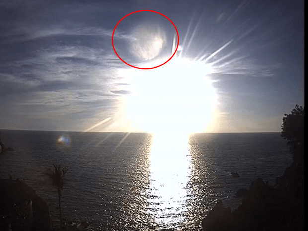 Dill Martin claims the planet was spotted above Mexico