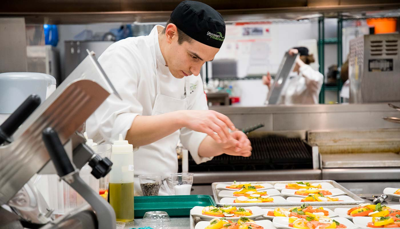 Culinary Arts  certificate  University of the Fraser