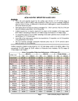 06 March 2015 report