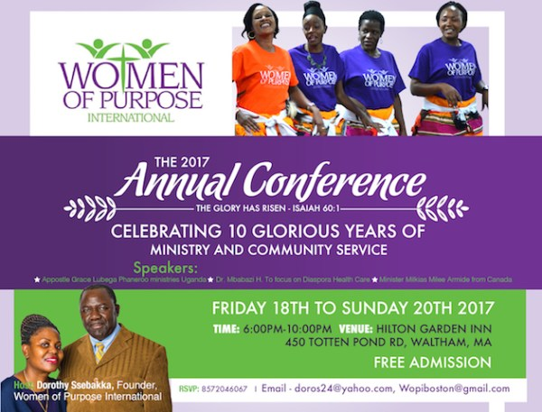 WOPI Women of Purpose International Annual Conference