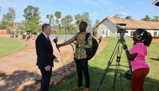 The video contains part of this interview conducted on graduation day at the UCU-Mukono campus in October 2018 with UCU Partners Executive Director Mark Bartels. (UCU Partners photo)