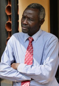 Dr. Arabat Kasangaki with the Uganda Christian University School of Medicine dentistry program