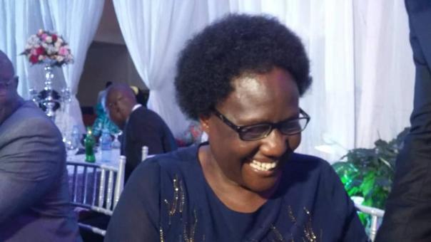 Margaret Ekel, founder and director of Florence Nightingale School of Nursing and Mid-wifery in Apac, northern Uganda