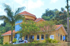 Building that houses leadership for the UCU Faculty of Journalism, Communication and Media Studies.