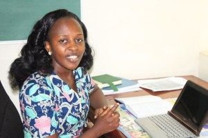 Pamela Tumwebaze, newly appointed head of Honors College