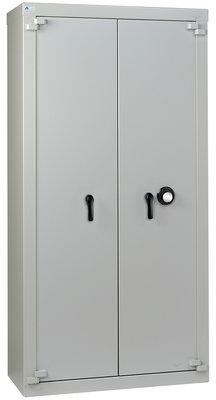 armoire forte haute classe b 2 portes 780 l serrure a disques a brouillage automatique
