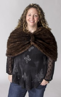 Capes, Shawls, Wraps, and Ponchos Archives | A.J. Ugent Furs