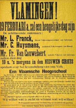 Van Cauwelaert, Frans (1880-1961) | UGentMemorie