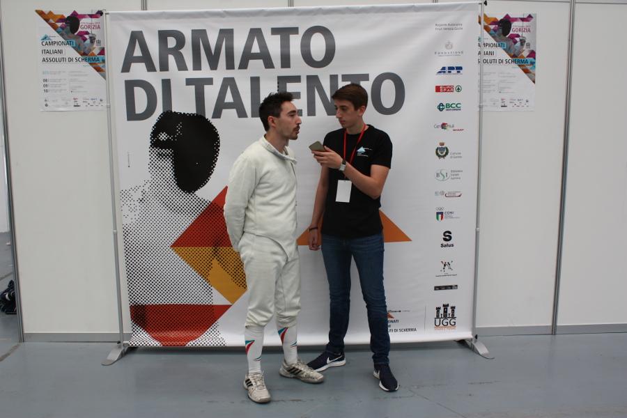 Intervista ad Alessandro Capurso