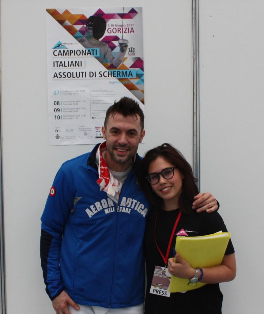 Intervista a Matteo Tagliariol, schermidore specializzato nella spada