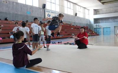 Lyudmila Petrova, insegnante di ginnastica ritmica