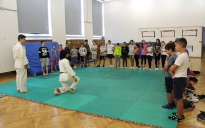 Luana Ladu, istruttrice di Judo