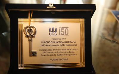 Gorizia, l'UGG consegna le chiavi al Comune