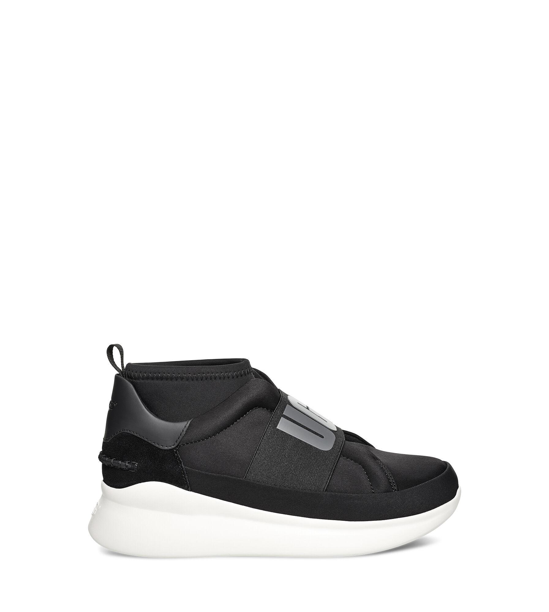 Womens Black Slip On Tennis Shoes