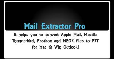 apple mail mbox to pst conversion