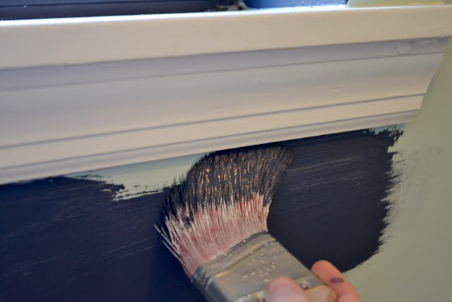 How to Paint Straight Lines Without Painters Tape  Ugly Duckling House