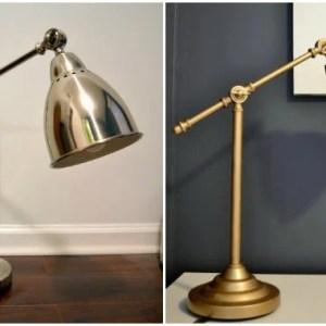 Quick Ikea Hack: Barometer Work Lamp