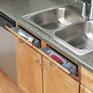 Sneaky Sink Storage (False Drawer Fronts)