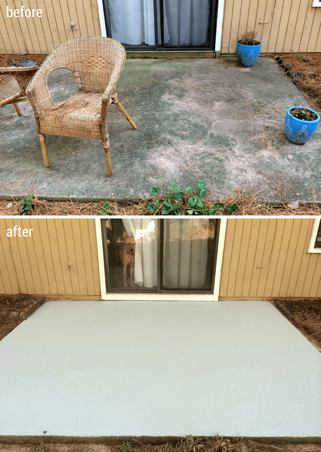 how i made my patio look new again with