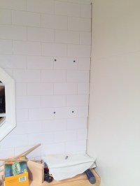 How to Install Floating Shelves On a Tile Wall Using Wall ...