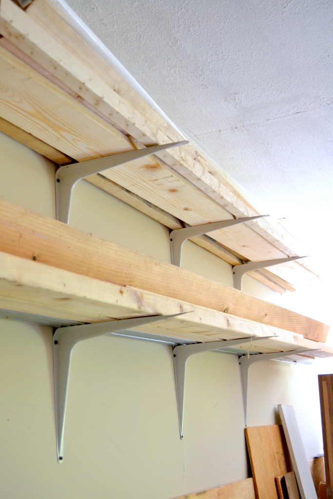 Cheap and Easy DIY Lumber Rack  Ugly Duckling House
