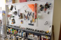Garage Pegboard Wall  Ugly Duckling House