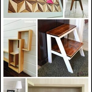 Build It Blog Hop One Board Challenge: Modern Step Stool