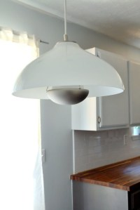 DIY Glass Pendant Light Fixture (Knockoff)  The Ugly ...