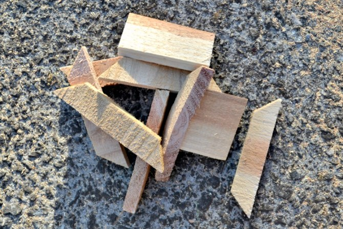 dont throw cedar scraps away