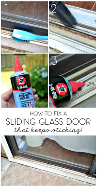 5-Minute Fix: Unsticking The Sliding Glass Door  The Ugly ...