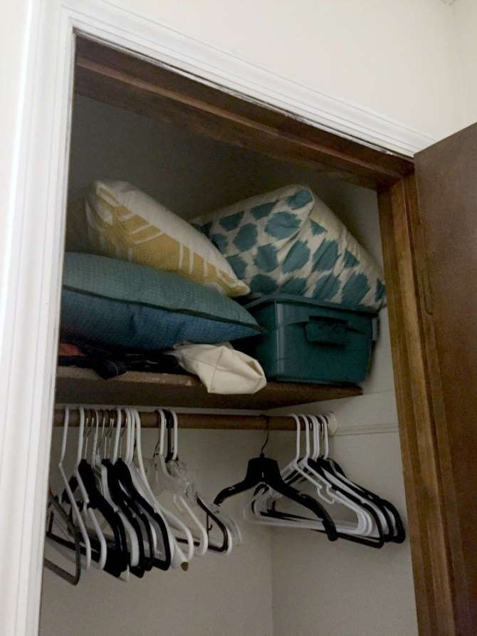 top closet before