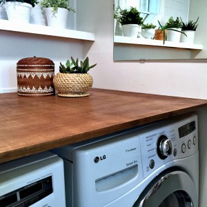 Laundry Room Makeover: Reveal!
