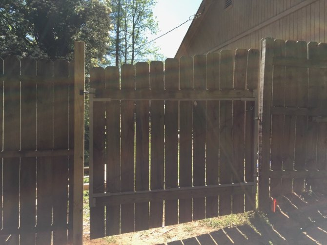 fence - other side of the fence