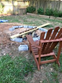 Let's Build a Fire Pit! (Part 1)  Ugly Duckling House