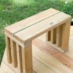 Scrap Wood Outdoor Bench Seat Diy Garden Bench Plans Ugly Duckling House
