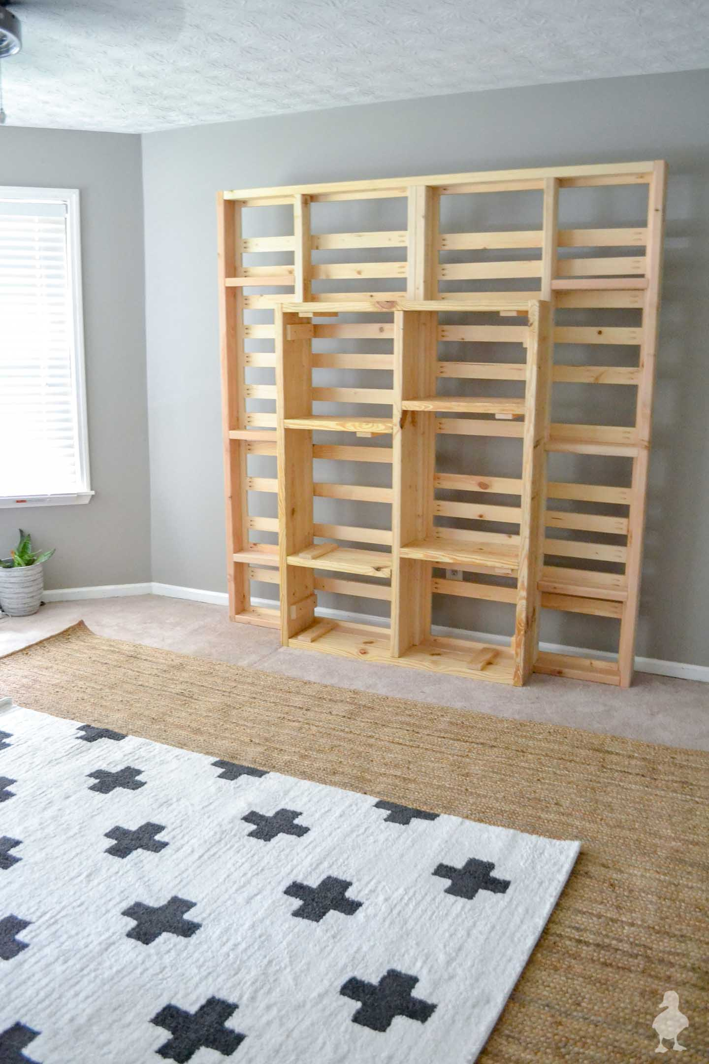 Diy Floating Platform Bed King Size