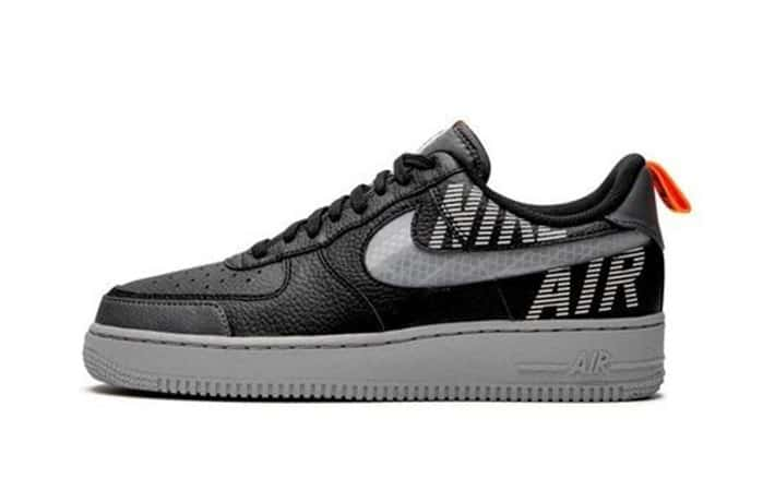 NIKE AIR FORCE 1 LOW UNDER CONSTRUCTION BLACK