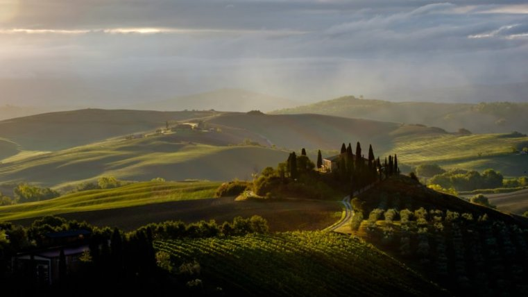 Podere Belvedere, Val D'Orcia, Tuscany, Italy