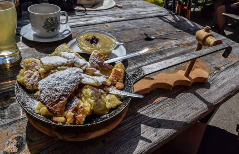 Traditional Kaiserschmarren in the Zugspitze arena