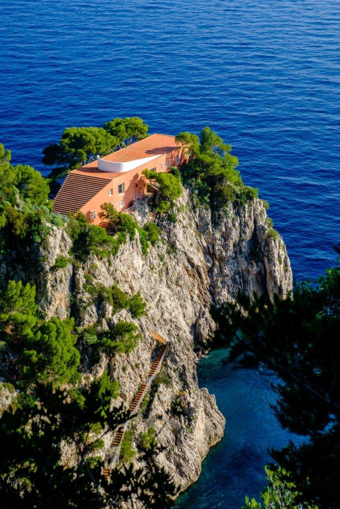 Villa Malaparte, Punta Massullo, Capri