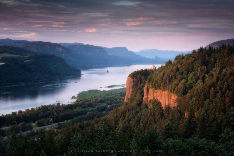 Columbia River Gorge Portland USA