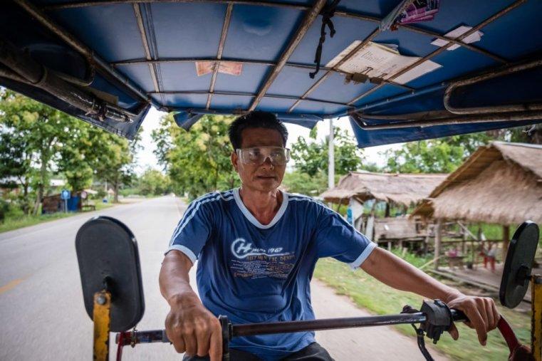 Krian, our tuk-tuk driver