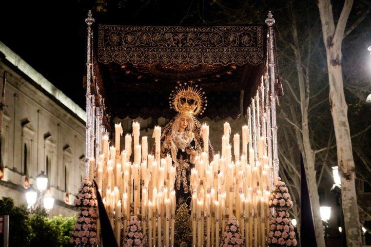 Semana Santa procession, Seville, Spain