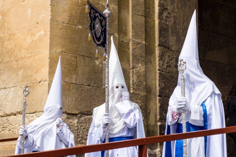 Semana Santa procession, Cordoba, Spain