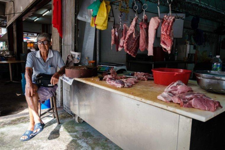 Butchery, Penang, Malaysia