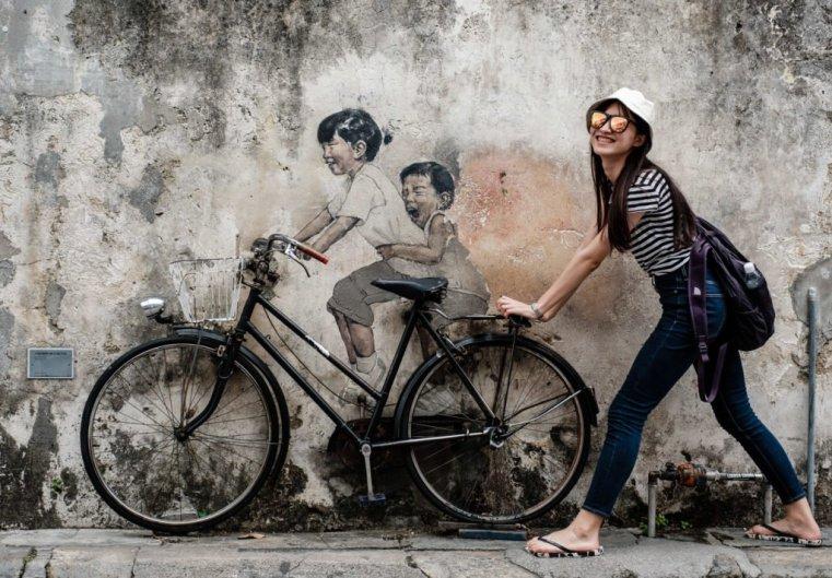 Things tourists do, Penang, Malaysia