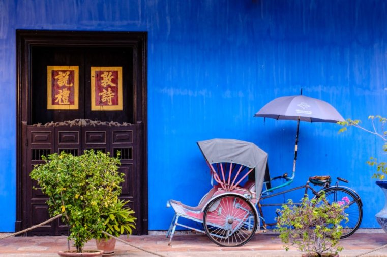 Cheong Fatt Tze, the Blue Mansion, Penang, Malaysia