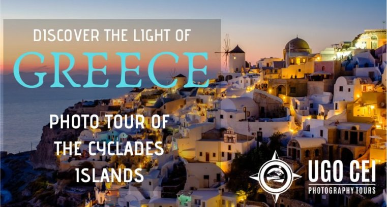 Discover the Light of Greece. Photo Tour of the Cyclades Islands