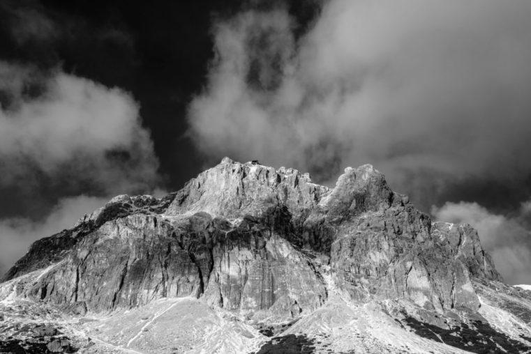 The Lagazuoi, Falzarego Pass, Italian Dolomites